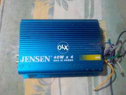 Jensen 40w +40 80 Max IC Power A84Stereo car Amplifier made in korea