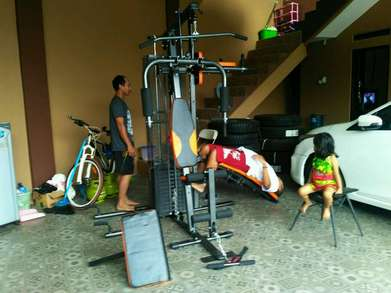 Gratis ongkir & pasang / Home gym 3 sisi anti gores made in Taiwan