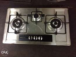 Gas Builtin Hob Stove and Exhaust Hood Imported at factory price NeW