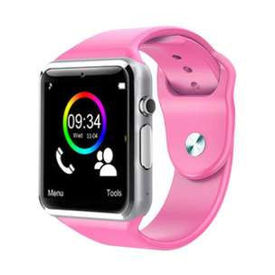 Smartwatch Smart Watch A1 Pink Blue like Apple watch