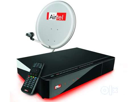Airtel Digital TV DTH SD Set Top Box with Recording Airtel Digital