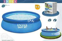 Intex 8 feet swimming pool Easy sett 30 inches height