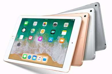 Handphone Apple Tab iPad 6 32GB Wifi Only 2018.Bisa Kredit/Cash Juga!
