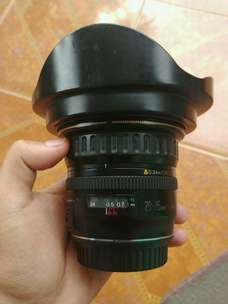 Canon EF 20-35mm f3,5-4,5 USM ultrawide canon not nikon bisa sony