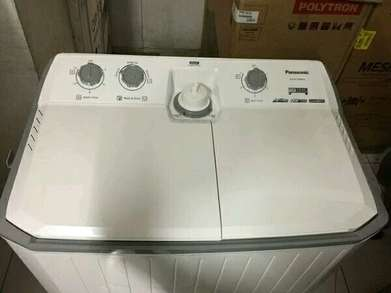 Mesin cuci panasonic 14 kg Low watt hd heavy duty pulsator ag clean