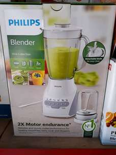 FreeAntar blender philips 2 liter mika with dry mill HR 2115 - 5speed