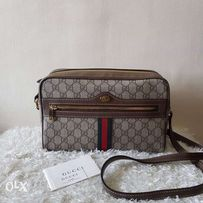 baeffff74ab381 Authentic Gucci Ophidia GG Supreme Small Shoulder Crossbody Bag