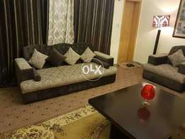 We have furnished 10marla ground portion for rent in bahria phase 4 is