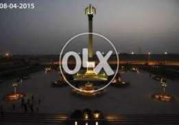 Bahria Town Beautifull & Great Place Unballot Plot For SALE 125 Yard