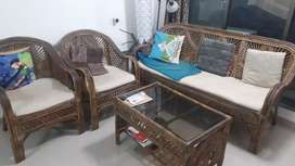 Astounding Cane Sofas Used Furniture For Sale In Mumbai Olx Lamtechconsult Wood Chair Design Ideas Lamtechconsultcom