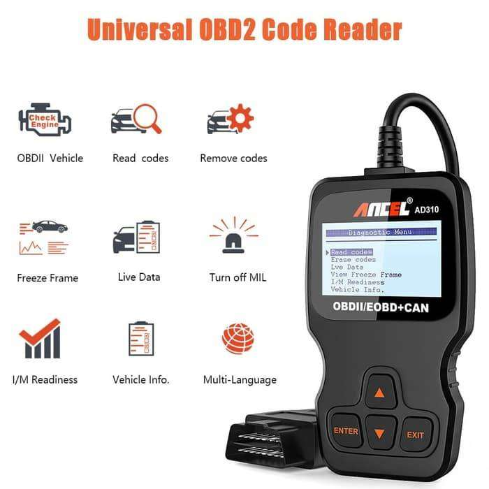 Vehicle Code Reader >> Code Reader Engine Fault Scanner Car Diagnostic Tool Scan