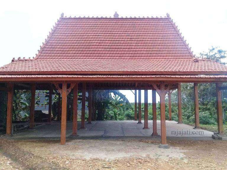 Jasa Bangun Rumah Limasan Jati Khas Jawa di Serang, Banten Biaya Murah