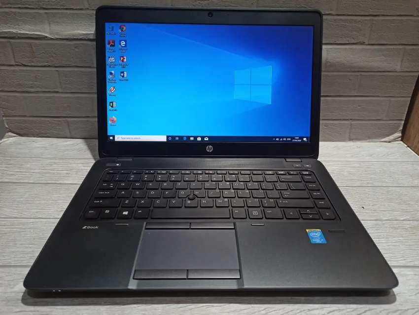 Laptop Kantoran Karyawan Hp Zbook 14 G2 Core I7 Gen5 Double Vga Komputer 797095873