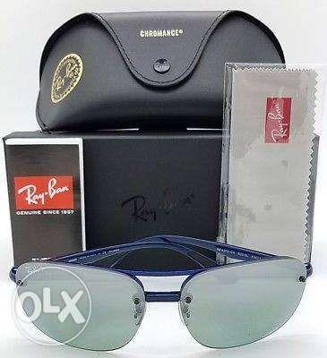 a4176e03f19 Rayban Sunglasses RB4275CH Blue Grey Mirror Chromance in Caloocan ...