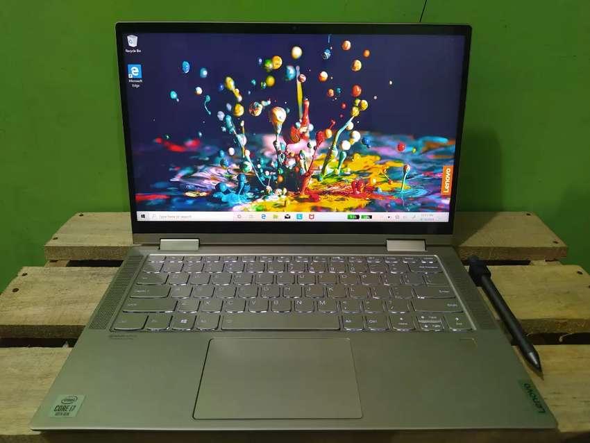 Lenovo C740 Core I7 10120 Gen10 Ram 16gb Ssd Nvme 512gb Touchscreen Komputer 799255415