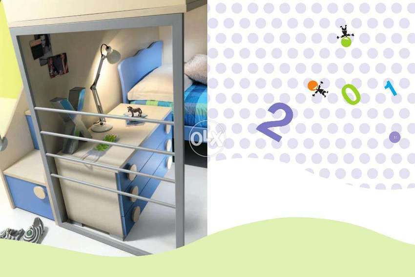 Kids Furniture With Bunk Bed And Study Table Kids Furniture