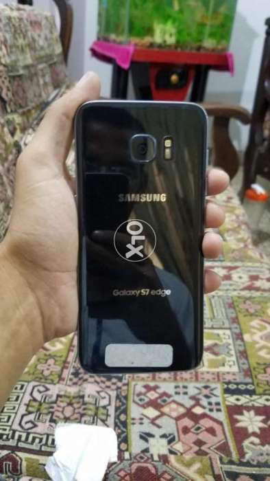 Samsung s7 edge fresh official usa without logo minor fault read