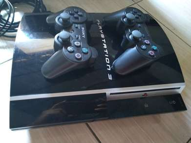 Ps 3 fat 80gb lengkap