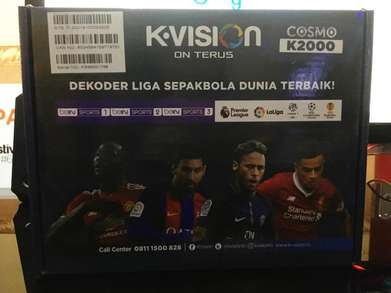 Kvision Cosmo mini parabola free 1bulan all channel