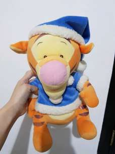 boneka tiger costum winter