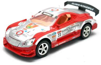 Mobil Remote Control Strong Mightiness Merah Silver Anak
