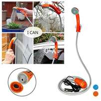 New Portable 12V Outdoor Manual Shower with Water Pump
