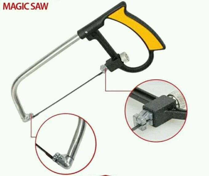 Tampilkan gambar. Close [x]. Multifunction Magic Saw Magic saw set gergaji serbaguna.