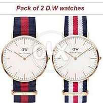 pack of 3 w.d watches with free delivery