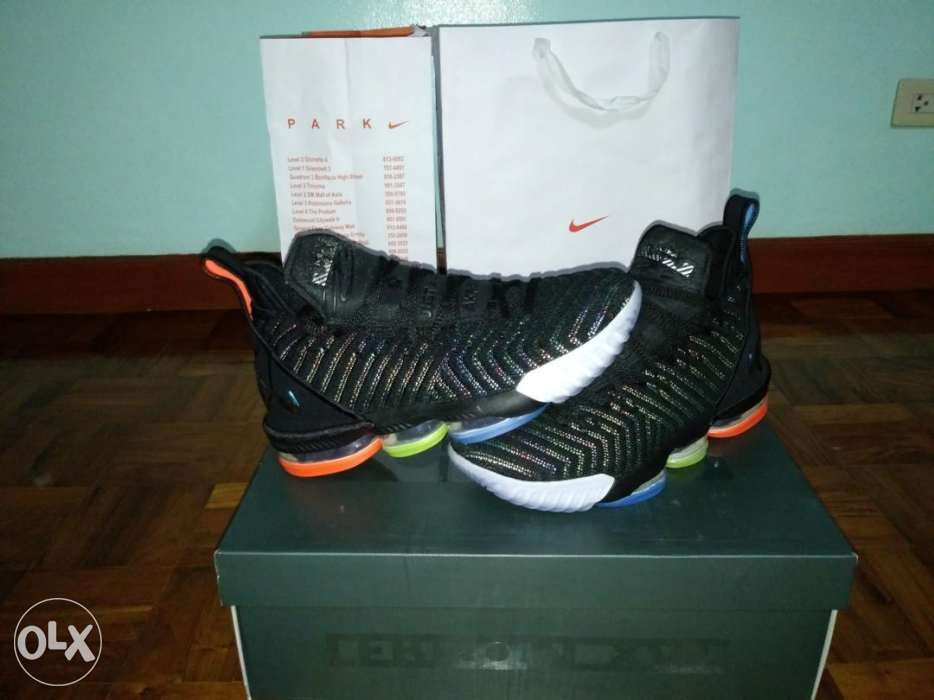 c7152fd3c02b Nike Lebron 16 i promise we are family in Manila