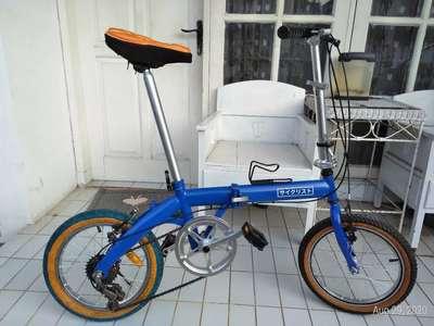 Sepeda Lipat Laux Milan 16 Sepeda Aksesoris 797385711