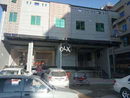 Commercial 9 Marla Plaza 4 Story 6 Shops 8 rooms in Ghouri Town