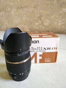 tamron 28-75 f2.8 for canon