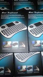 Keyboard Mini with TouchPad Wireless Receiver 2,4Ghz Best Quality