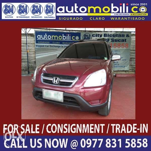 011dbd32e7 2003 Honda CRV AT Gas Automobilico SM City Bicutan in Parañaque ...