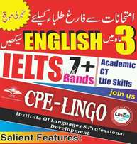 IELTS 7 straight / spoken English with accent