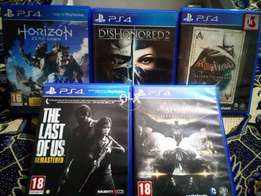PS4 games for sale .