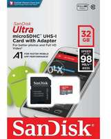 Sandisk A1 Faster Mobile apps 32gb card