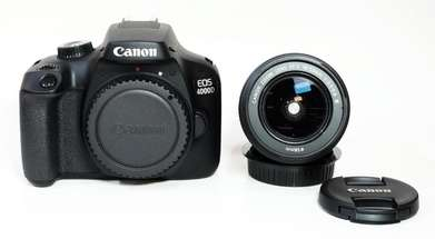 Canon EOS 4000D Kit 18-55mm IS III Like New