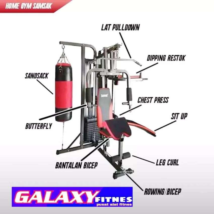 Surabaya Alat Olahraga Home Gym Sansak Iklan Galaxi Fitnes