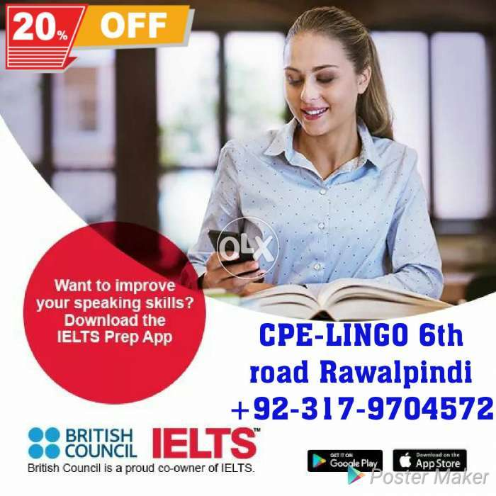 IELTS 8777 bands and spoken English - Education & Classes - 857830763
