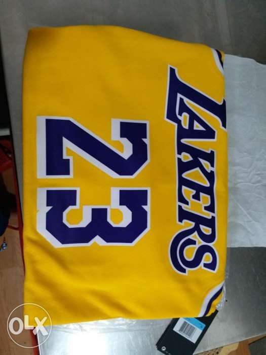 2975d5ce8 ... Nike Lebron james Lakers swingman Jersey 23 not jordan adidas ...