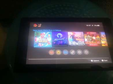 Nintendo switch tablet aja internal 32gb normal