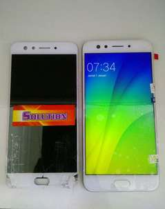 lcd touchscreen Oppo F3 / 5inch Putih #SOLUTION