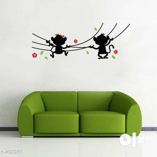 pvc vinyl wall sticker. new. easy to remove. - home decor & garden