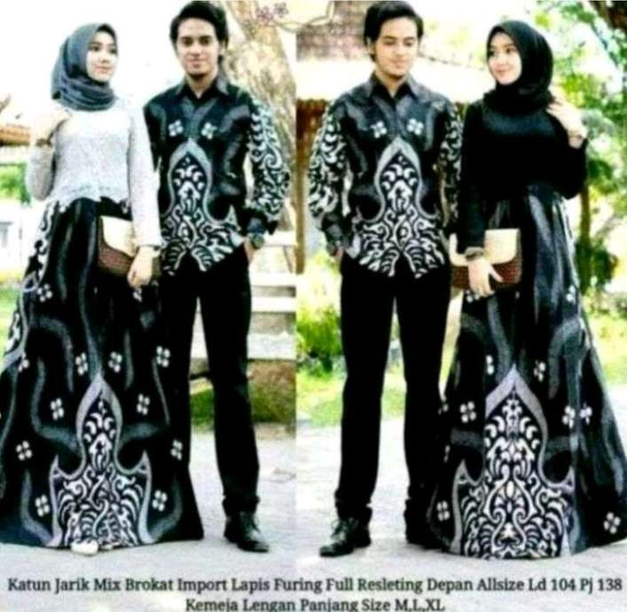 Couple batik terbaru