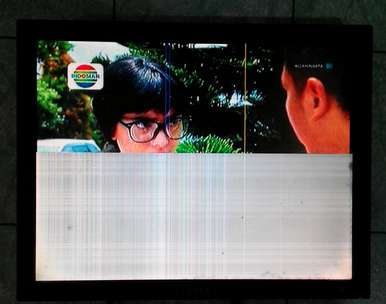 monitor lcd samsung syncmaster 540N 15inch square minus liat foto