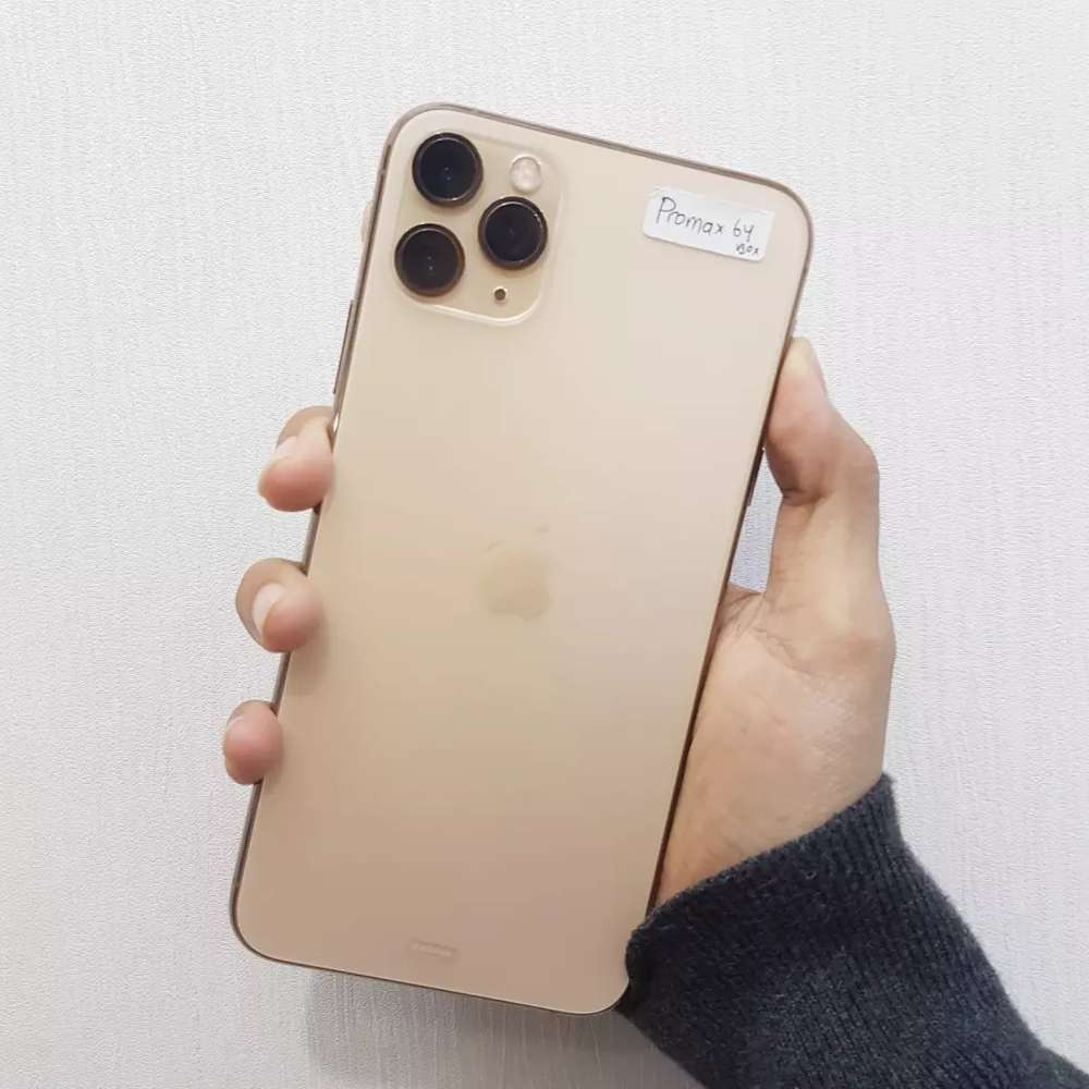 Iphone 11 Pro Max 64 Gold Digimap Handphone 791189354