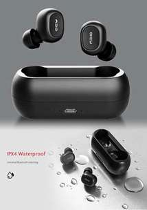 Headset handsfree bluetooth earphone Game QCY T1C 5.0 wireless