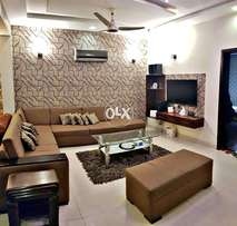 Bahria Town Heights 2 luxury apartment fully furnish 2bed rent ph 6