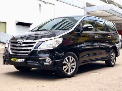 [autowhiz][DP 24jt] Toyota Kijang Innova 2.0 V Luxury AT 2014 Hitam